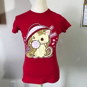 Urban Outfitters Tops - Ramen Cat Tee Shirt Lolita Dolly Adorable vibes